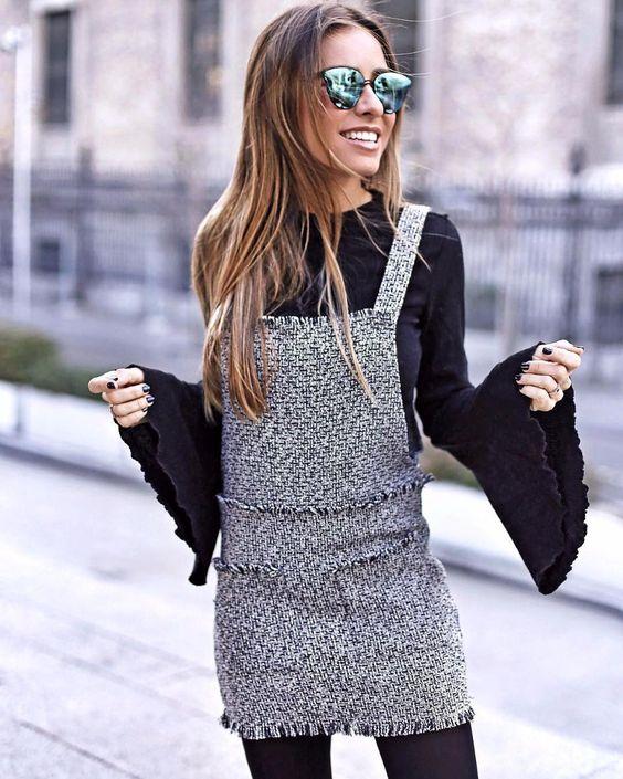 tweed dress suits