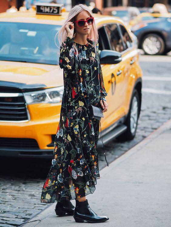 floral floral dress tulle