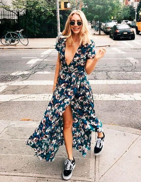 navy floral dress sneakers