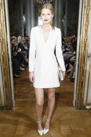white blazer dress completely white