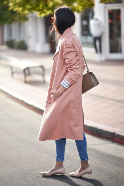 pale pink long excavator loafers the same color