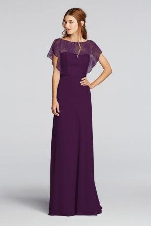 navy blue semi sheer maxi dress