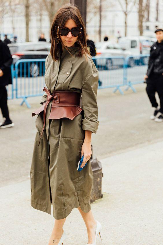 olive dress waistband