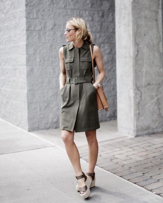 olive dress military