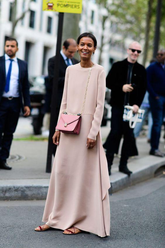 blush pink dress lace up sandals