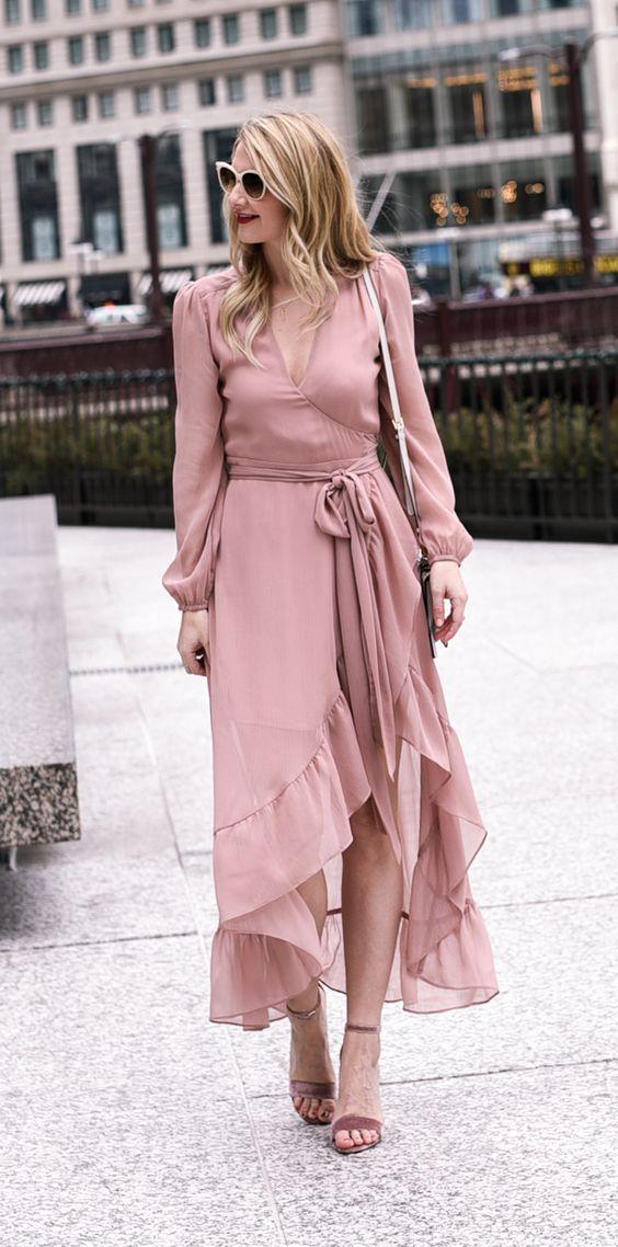 pink pink dress ruffle home