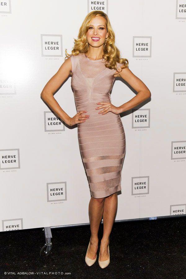 pink bandage dress classic