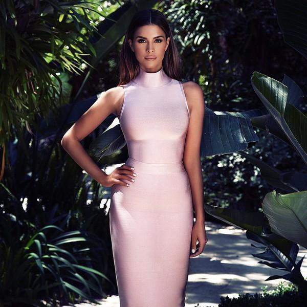 pink bandage dress fantastic