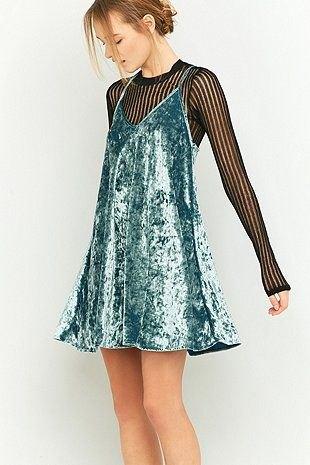 V-neck silver halter dress black lace top