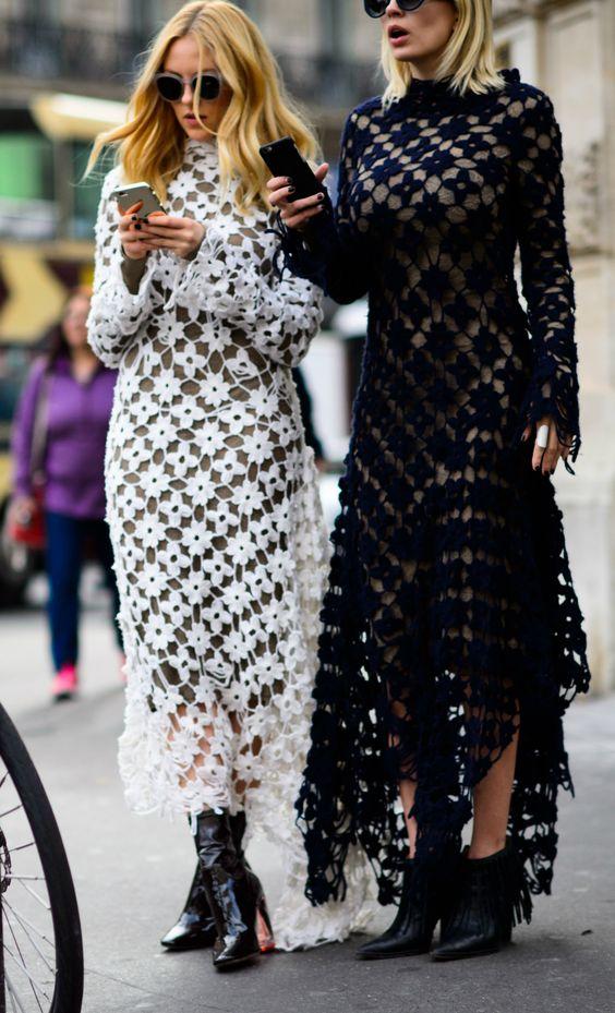 crochet dress double problems