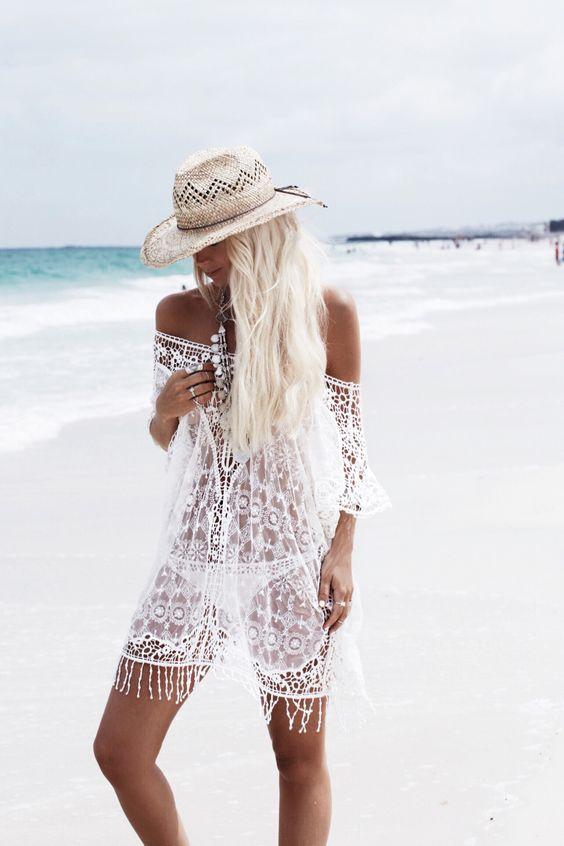 crocheted gypsy dress