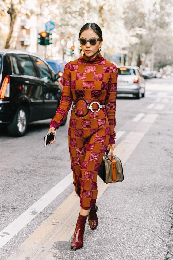 crochet dress combination