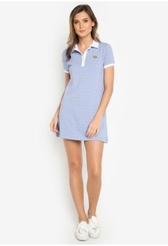 tiffany blue polo shirt dress