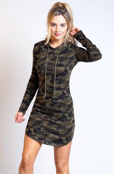camo skinny fit head dress