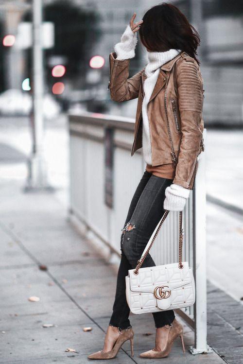 suede heels brown white