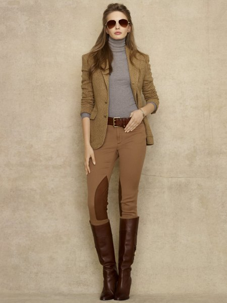 matching blazer and breeches