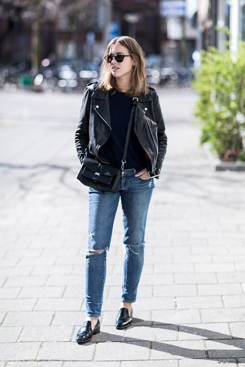 moto jackets in black leather