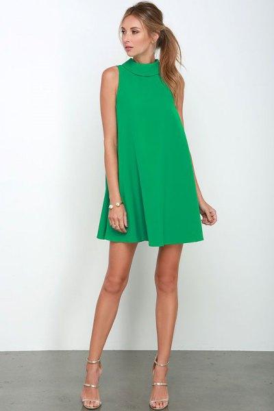 olive breezy mini dress suit