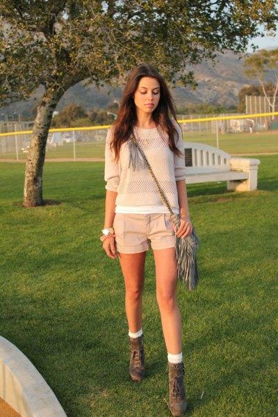 bermuda hiking shorts kint sweater