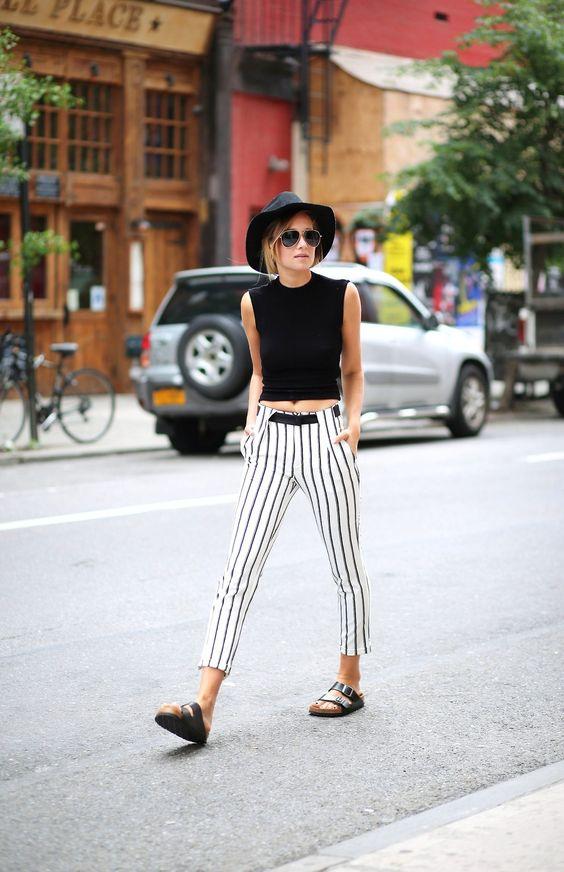 black birch stock striped pants