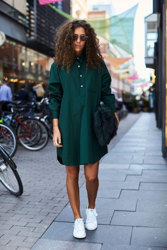 bag emerald green dress