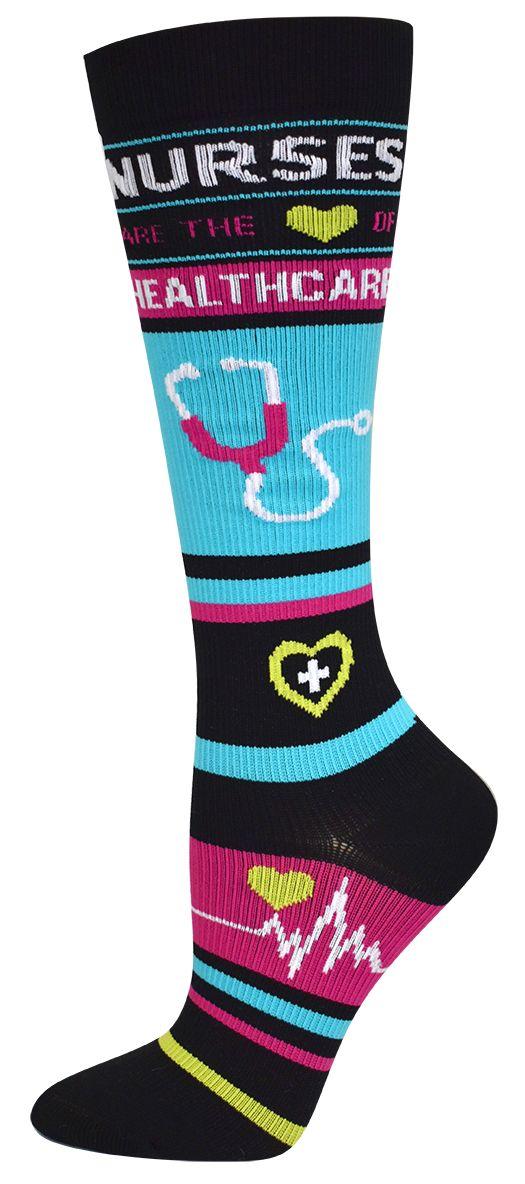 nurses compression stockings