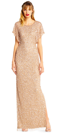 sequins mom to the wedding dress
