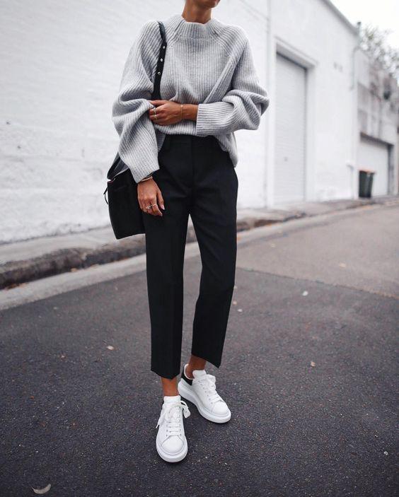 minimal sneakers