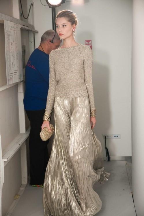 gold dress maxi