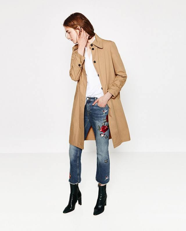 capri jeans long line jacket