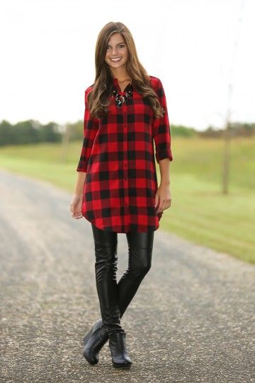 boyfriend shirt dress leather leggings outfit