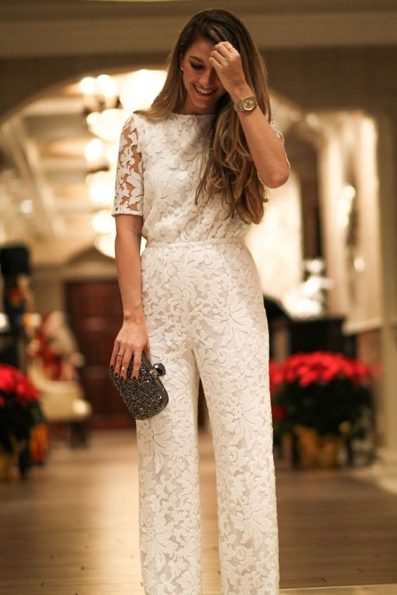 palazzo jumpsuit with short sleeves
