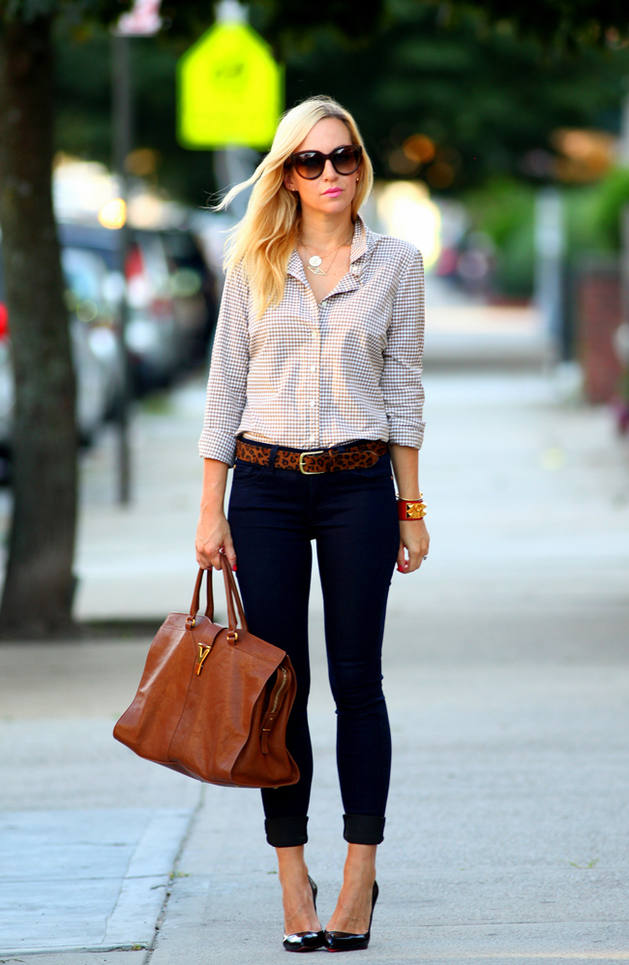 casual shirt slim jeans