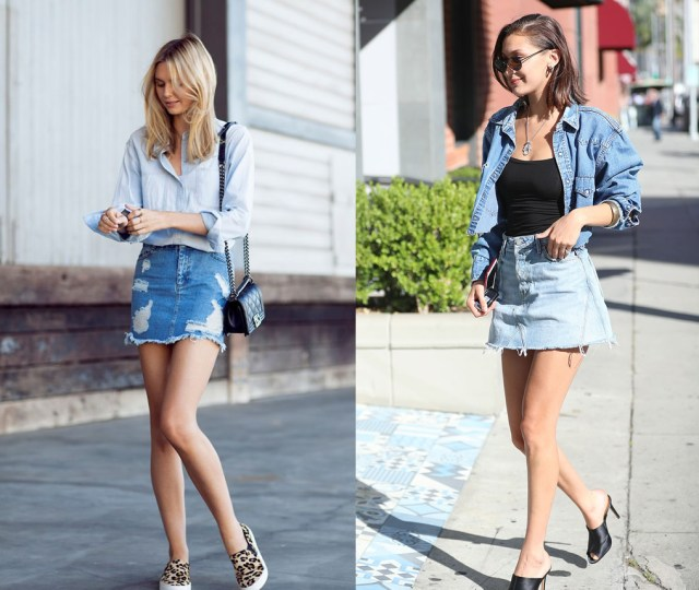 denim dress showcase