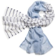 Tory Burch double-sided scarf