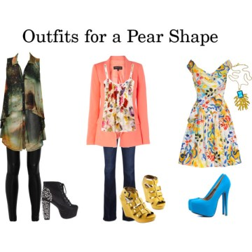 pear body shape two