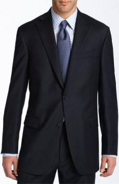 Linen business suit for men
