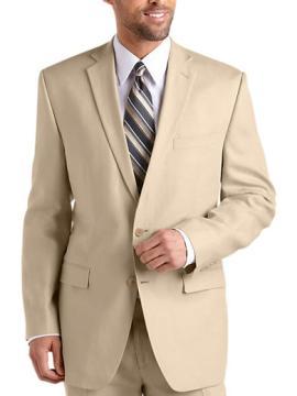 Tan Linen costume