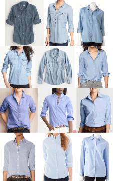 Chambray Casual Shirts