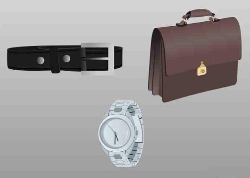 Men's interview accessories