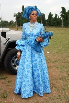 African wedding Aso Ebi styles