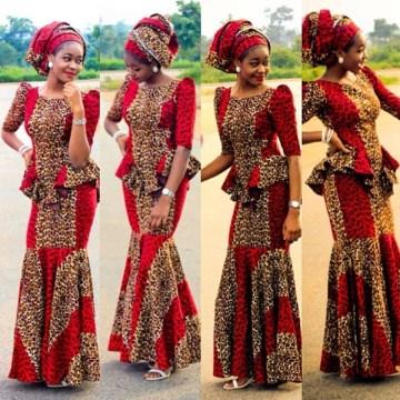 International Nigerian Ankara for Wedding
