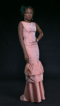 Violet Couture dress