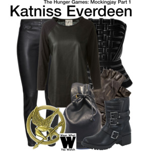 Hunger Games Polyvore outfit