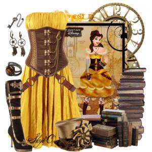 Disney Princess Polyvore outfit