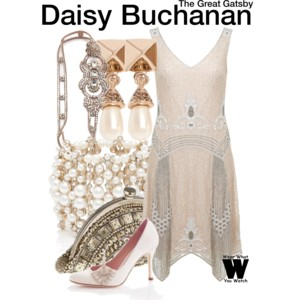 Great Gatsby Polyvore outfit