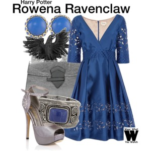 Harry Potter Polyvore outfit