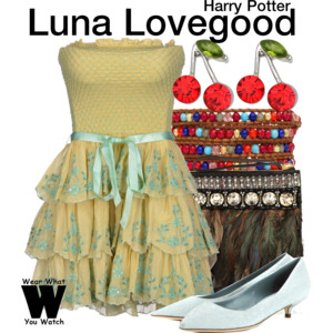 Luna Lovegood outfit