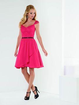 Short skirt with skirt and narrow waist band