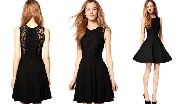 Classic cute little black dress